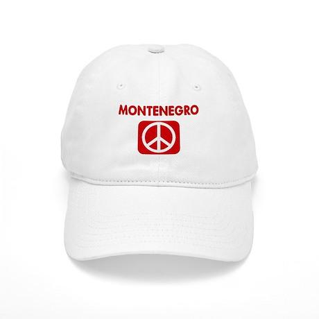 MONTENEGRO for peace Cap