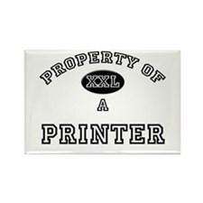 Property of a Printer Rectangle Magnet