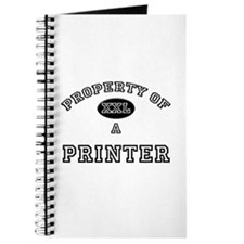 Property of a Printer Journal
