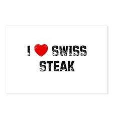 I * Swiss Steak Postcards (Package of 8)