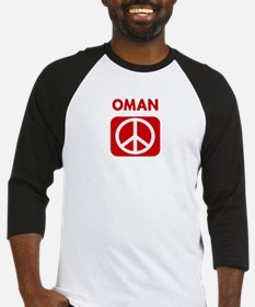 OMAN for peace Baseball Jersey