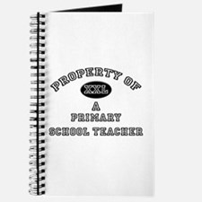 Property of a Primary School Teacher Journal