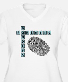 FORENSIC GODDESS Plus Size T-Shirt
