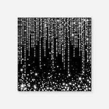 "STAR SHOWER Square Sticker 3"" x 3"""