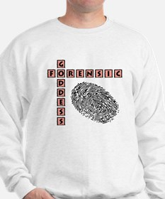 FORENSIC GODDESS Sweatshirt