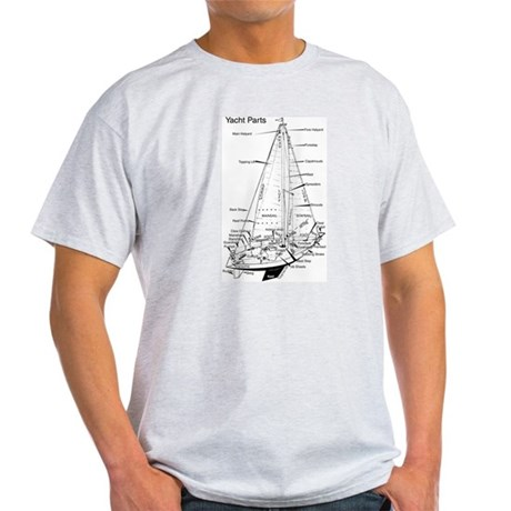Ash Grey T-Shirt - Yacht Parts