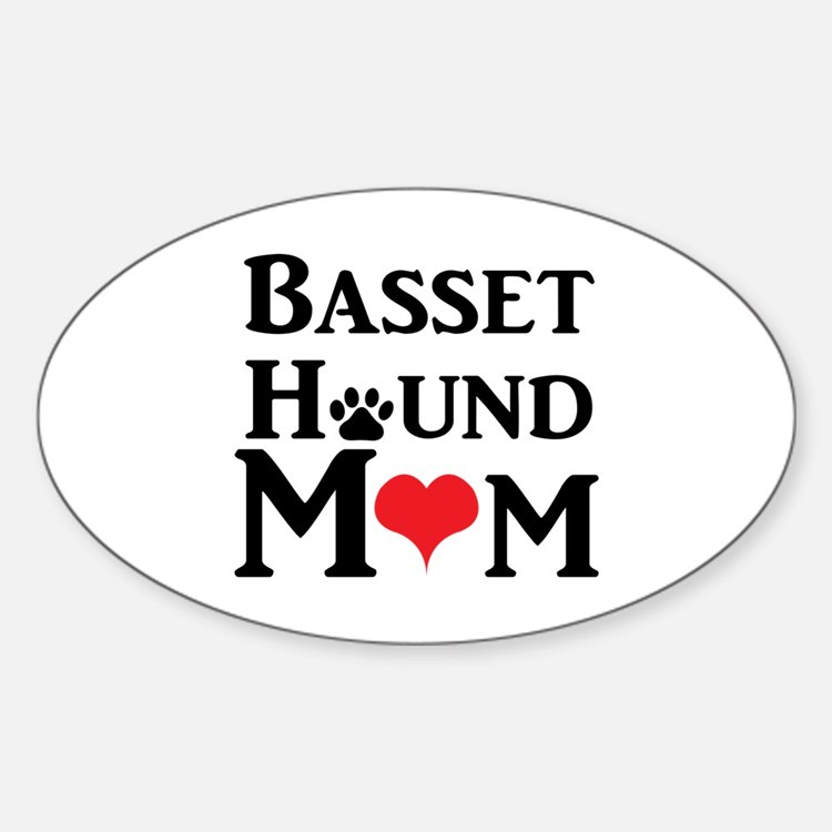 Basset Hound Mom Decal