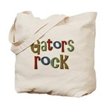 Gators Alligators Football Rock Tote Bag