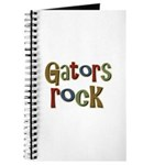Gators Alligators Football Rock Journal