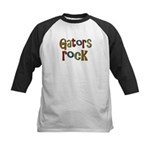 Gators Alligators Football Rock Kids Baseball Jers