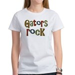 Gators Alligators Football Rock Women's T-Shirt