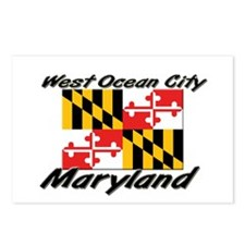 West Ocean City Maryland Postcards (Package of 8)