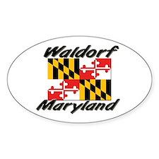 Waldorf Maryland Oval Decal