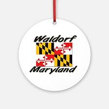 Waldorf Maryland Ornament (Round)