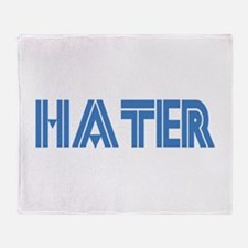 Hater Throw Blanket