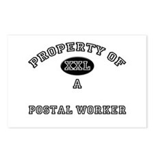 Property of a Postal Worker Postcards (Package of