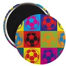 Cute Funny soccer Magnet