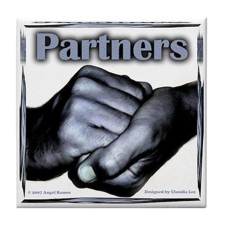 Partners-Triumph of the Spirit Tile Coaster