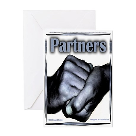 Partners-Triumph of the Spirit Greeting Card