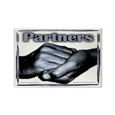 Partners-Triumph of the Spirit Rectangle Magnet