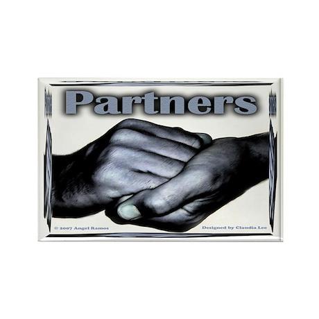Partners-Triumph of the Spirit Rectangle Magnet
