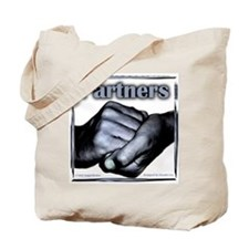 Partners-Triumph of the Spirit Tote Bag