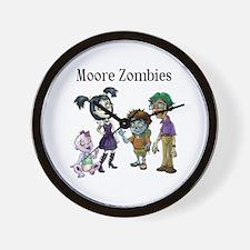 Moore Zombies Wall Clock