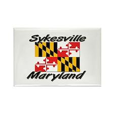 Sykesville Maryland Rectangle Magnet