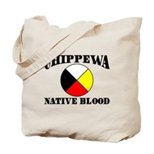 Chippewa Native Blood Tote Bag
