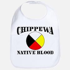 Chippewa Native Blood Bib