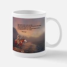 Go Forward With Courage Mug