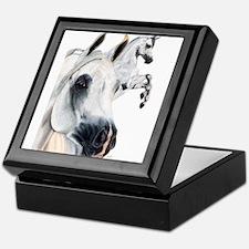 Grey Arabian Keepsake Box