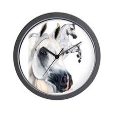 Grey Arabian Wall Clock