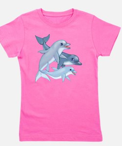 Fish art Girl's Tee