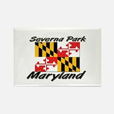 Severna Park Maryland Rectangle Magnet