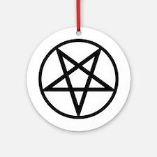 Pentagram Ornament (Round)