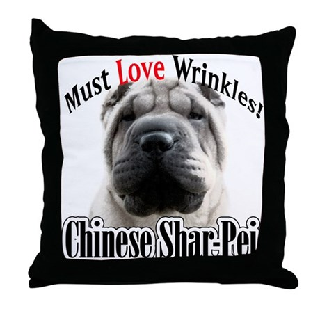 Shar MustLove Throw Pillow