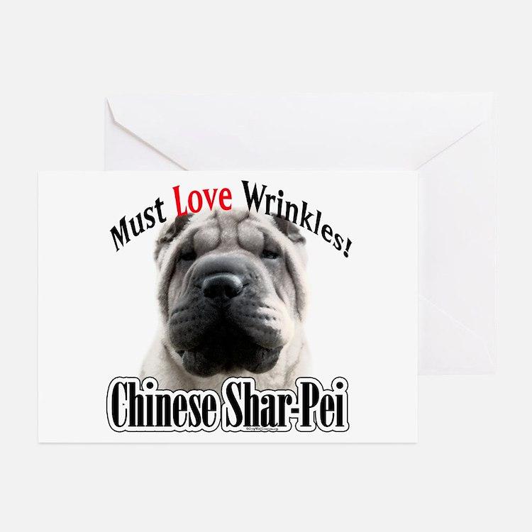 Shar MustLove Greeting Cards (Pk of 10)