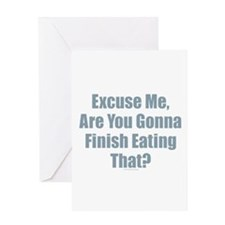 Finish Eating That Greeting Cards