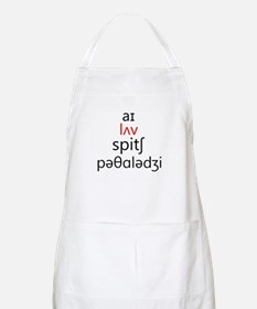 I Love Speech Pathology Phonetics 2 Apron