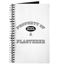 Property of a Plasterer Journal