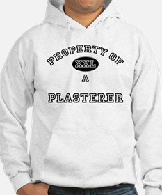 Property of a Plasterer Hoodie