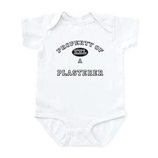 Property of a Plasterer Infant Bodysuit