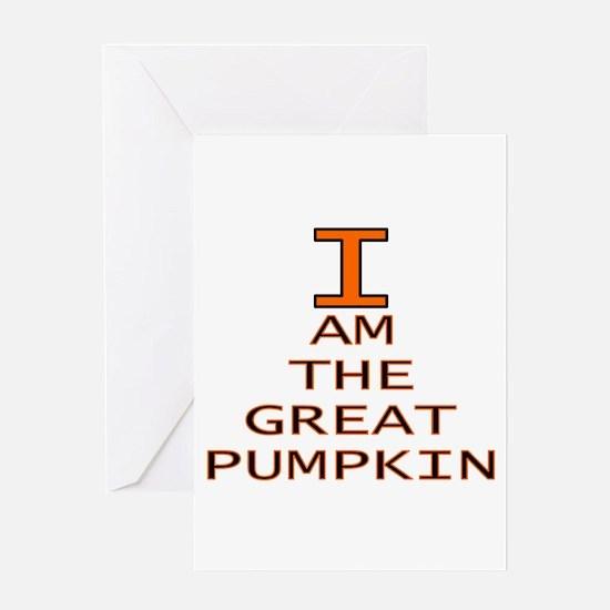 I am the Great Pumpkin Greeting Card