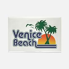 Venice Beach Rectangle Magnet