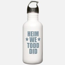 Heim We Todd Did Water Bottle