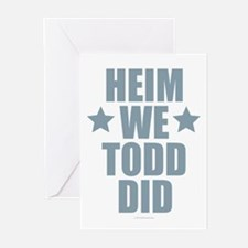Heim We Todd Did Greeting Cards