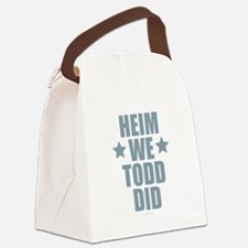 Heim We Todd Did Canvas Lunch Bag