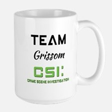 TEAM GRISSOM Mugs
