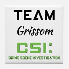 TEAM GRISSOM Tile Coaster